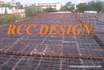 Reinforced Cement Concrete Design