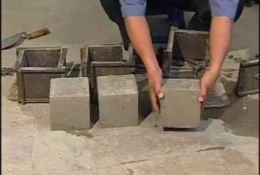 Compressive Strength of Cement Concrete Cubes