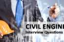 Civil Engineering Interview Questions and Answers with Basic Knowledge